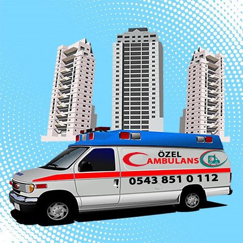 Denizli özel ambulans tel