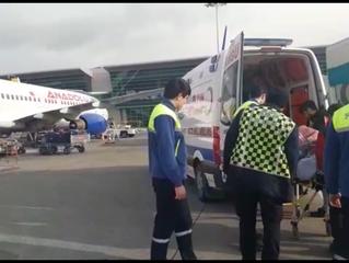 Havaalanından Ankara Şehir Hastanesine Hasta Nakli