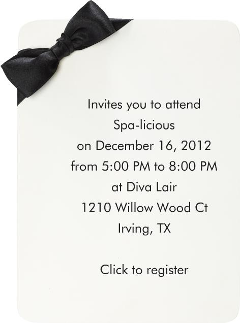 1st Spa-licious event