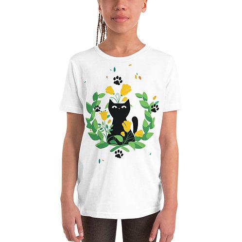 Cat Graphic Tee 11 Kids