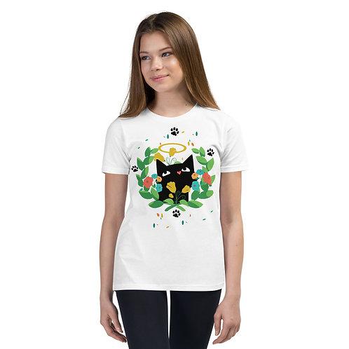 Cat Graphic Tee 13 Kids