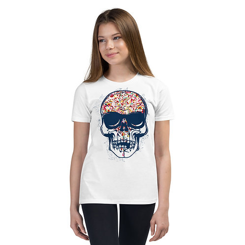 Day Of The Dead Tee Kids 14