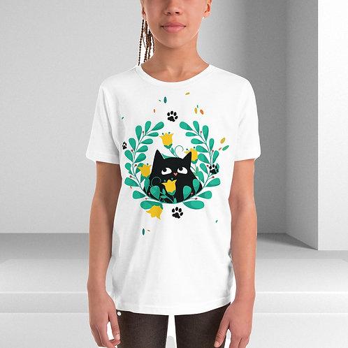Cat Graphic Tee 10 Kids