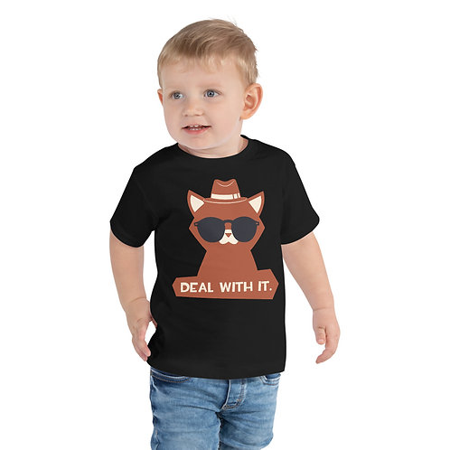 Deal With It Unisex Toddler Tee