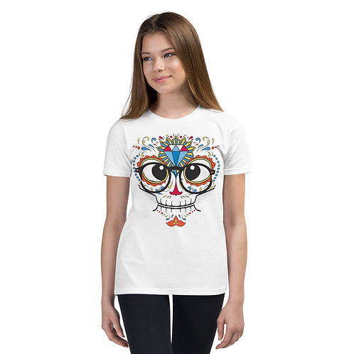 Day Of The Dead Tee Kids 26