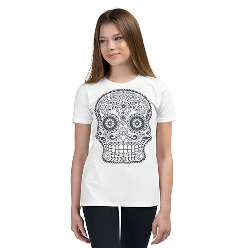 Day Of The Dead Tee Kids 4