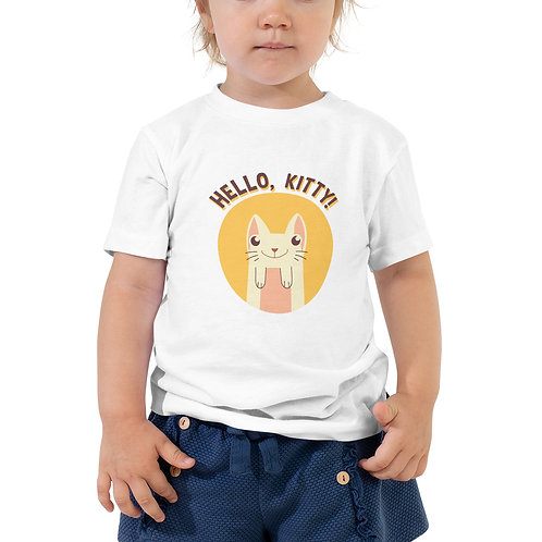 Hello, Kitty Unisex Toddler Tee