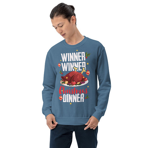 Winner Winner Christmas Dinner - Unisex Sweatshirt