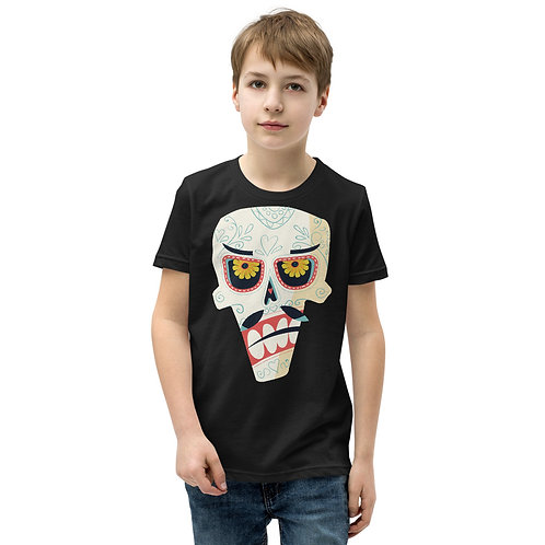 Day Of The Dead Tee Kids 16