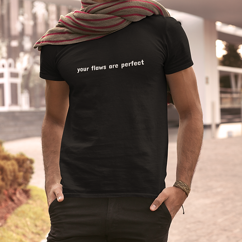Your flaws are perfect - Short-Sleeve Unisex Luxury Tee