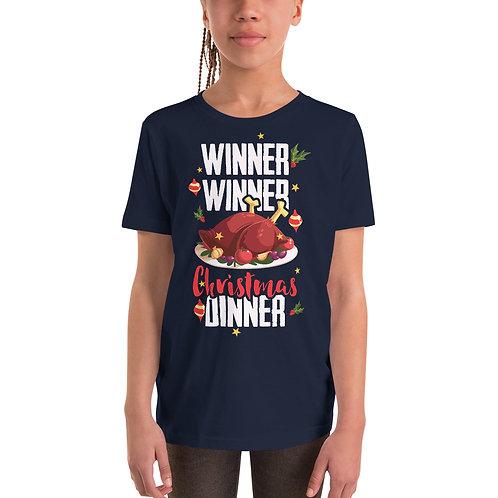 Winner Winner Christmas Dinner - Kids Unisex Tee