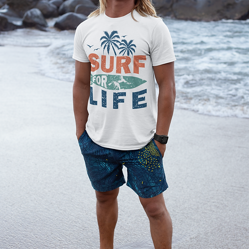 Surf For Life - Unisex Tee