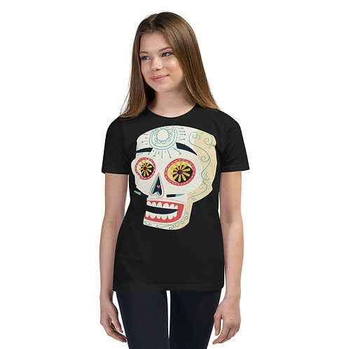 Day Of The Dead Tee Kids 17