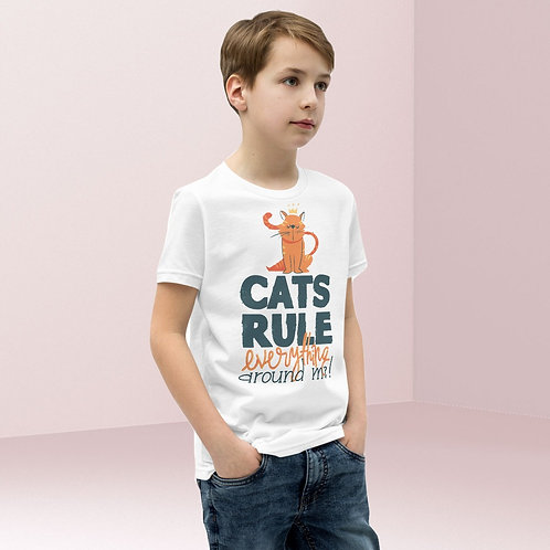 Cats Rule Everything Unisex Tee Kids
