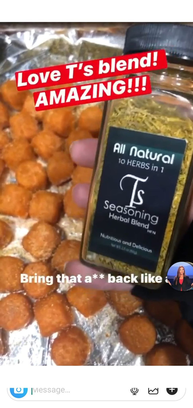 The Love for T's Seasoning