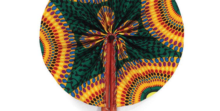 Accra Folding Fan