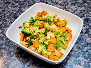 T's Sweet Potato Veggie Mix