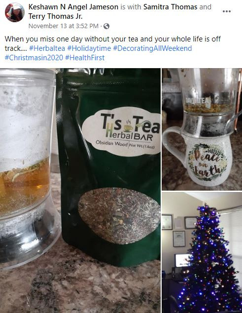 Herbs Heals! Happy client!