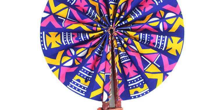Pretty Girl Folding Fan