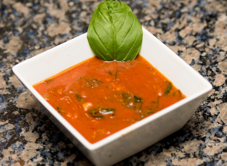 T's Tomato and Veggie Basil Soup