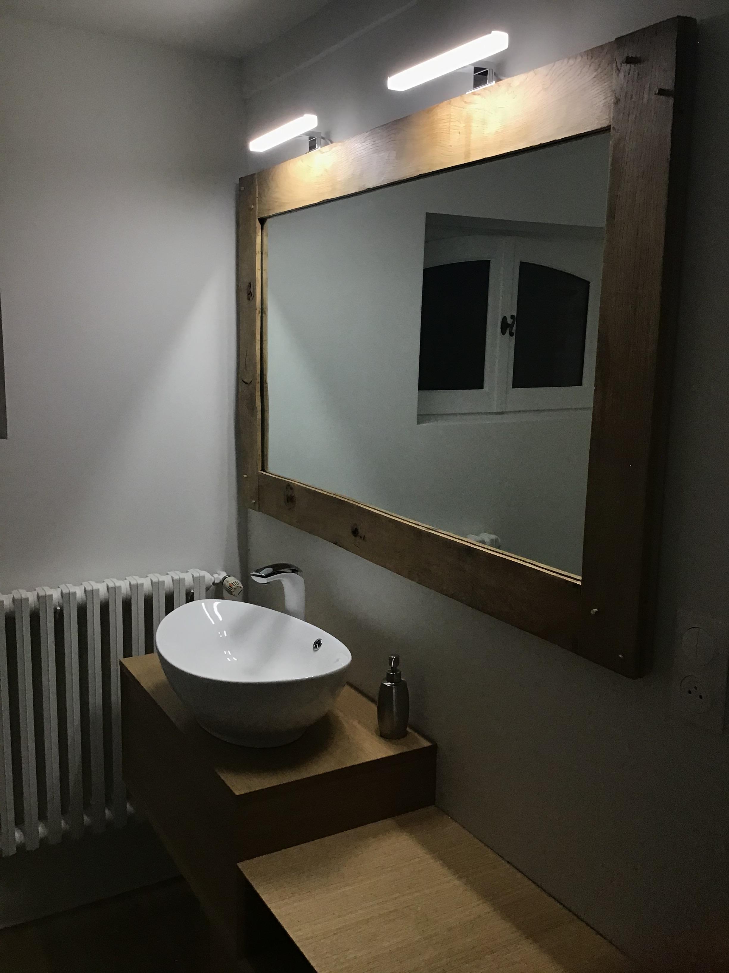 Salle de bain chambre Etang