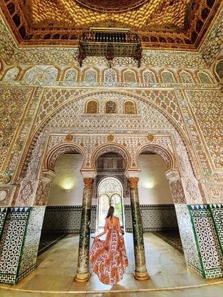 Real Alcazar seville blog voyage instagr