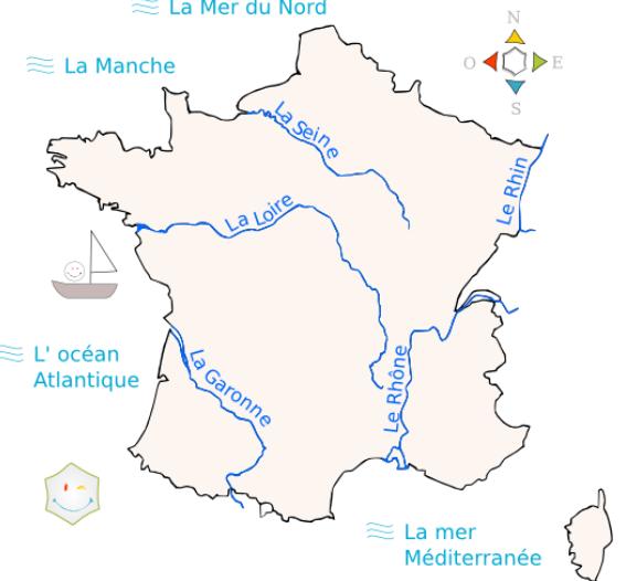les fleuves en france naturalisation