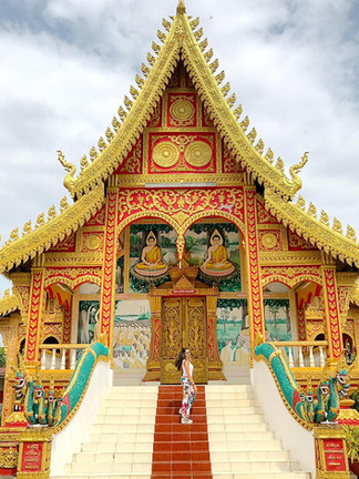 temple buddhiste laos thailande  blog.jp