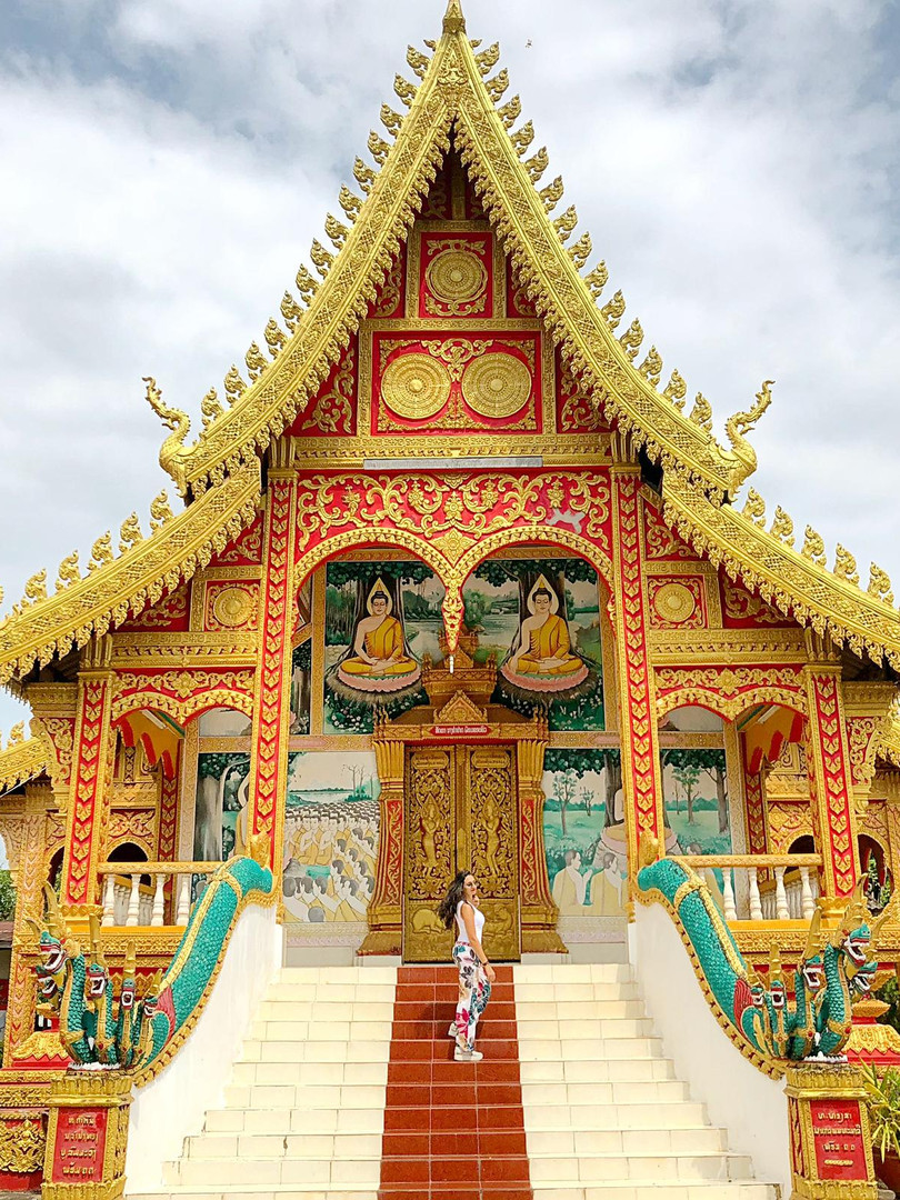 temple buddhiste laos thailande  blog.jp