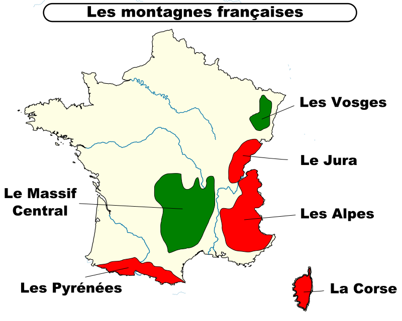 montagnes françaises naturalisation