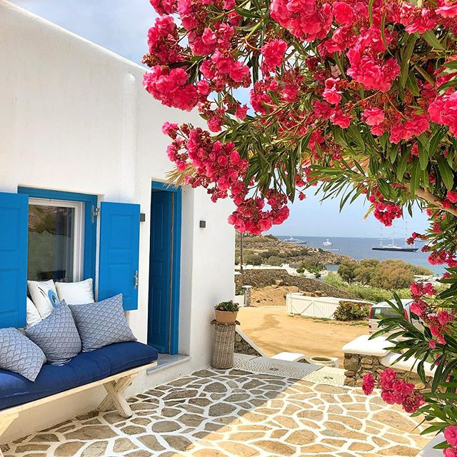 mykonos hébérgement hotel piscine pas cher