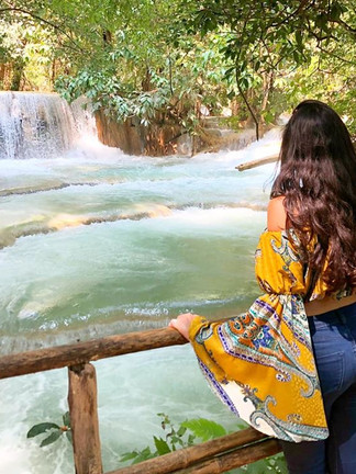 photo laos khouloud tunisienne kuang si