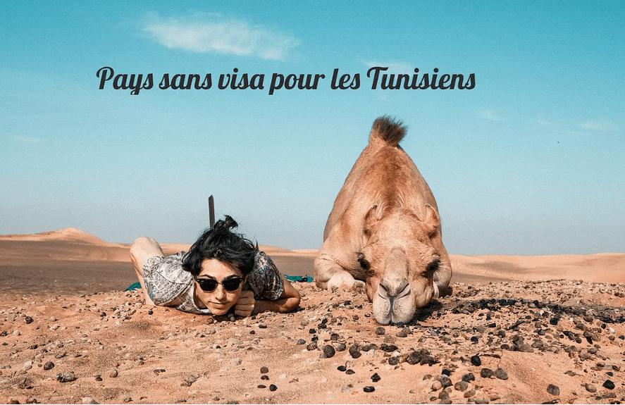 pays sans visa tunisie pour les tunisiens tunisian free visa countries