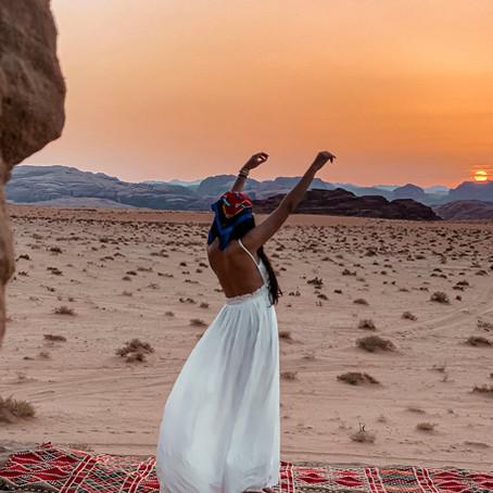 Les activités du désert sauvage de Wadi Rum