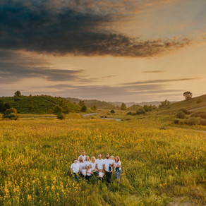Early Fall Family Portraits on Lost Mountain | Hazard, KY | Kentucky Family Photographer