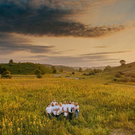 Early Fall Family Portraits on Lost Mountain   Hazard, KY   Kentucky Family Photographer