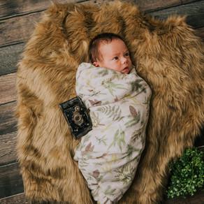 Introducing Mr. Canaan Morgan | Hazard, KY | Kentucky Newborn Photographer