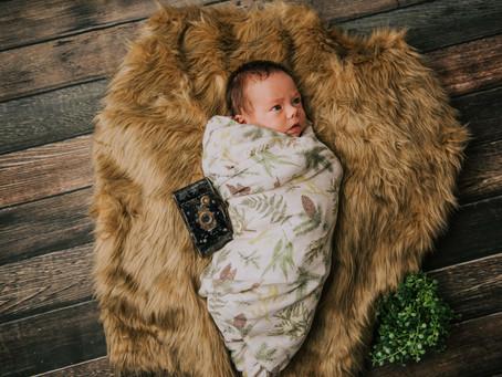 Introducing Mr. Canaan Morgan   Hazard, KY   Kentucky Newborn Photographer