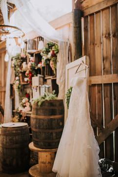 Dress in the Barn