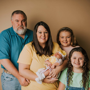 Baby Lyons First Portraits | Hazard, KY | Kentucky Newborn Photographer
