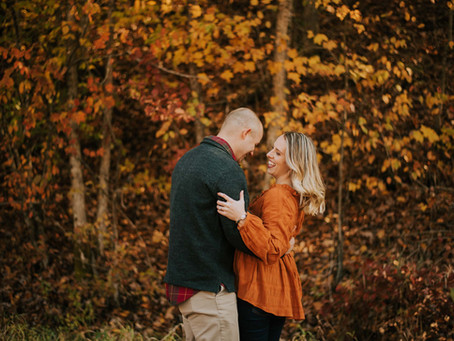 Late Fall Morning Engagement   Austin + Angelina: Knott County   Kentucky Engagement Photographer