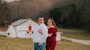 Early Spring Engagement Portraits with Keisha + Jarrett   Kentucky Wedding Photographer