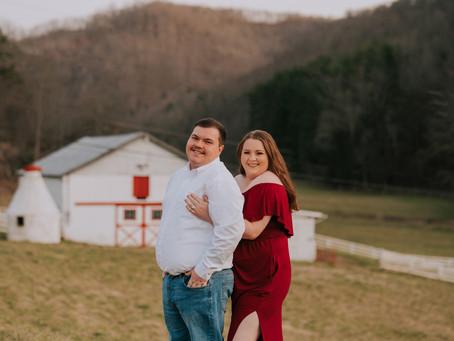 Early Spring Engagement Portraits with Keisha + Jarrett | Kentucky Wedding Photographer