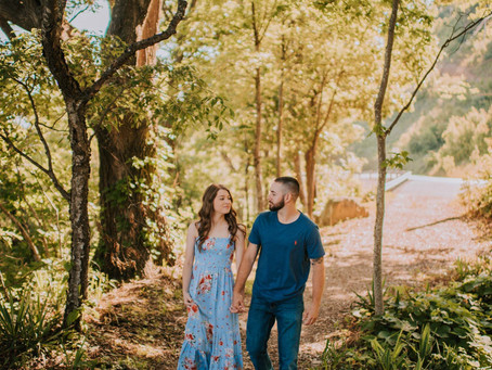 Early Morning Engagement on Pine Mountain | Kentucky Engagement Photographer
