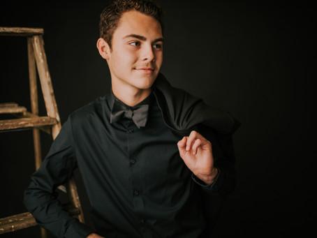 Classy Studio Portraits with Dawson Barnett | Hazard, KY | Kentucky Portrait Photographer