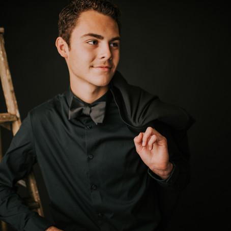 Classy Studio Portraits with Dawson Barnett   Hazard, KY   Kentucky Portrait Photographer