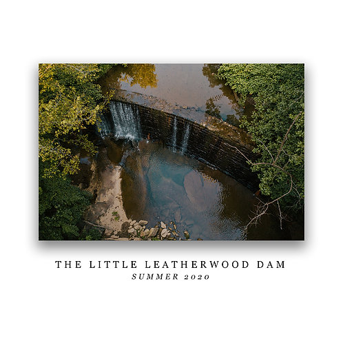 The Little Leatherwood Dam Print