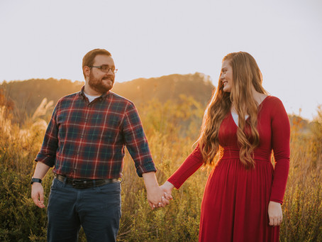 Fall Engagement Portraits with Haley + Jacob | Hazard, KY | Kentucky Wedding Photographer
