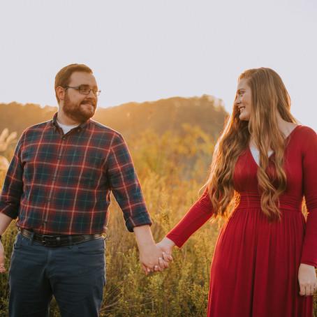 Fall Engagement Portraits with Haley + Jacob   Hazard, KY   Kentucky Wedding Photographer