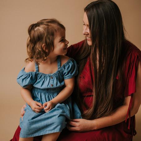 Studio Mother-Daughter Portraits   Hazard, KY   Kentucky Family Photographer